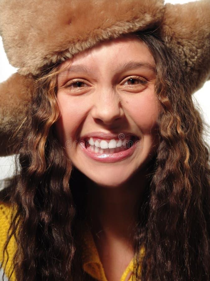 Download Nastolatek anioła zdjęcie stock. Obraz złożonej z zęby - 450872