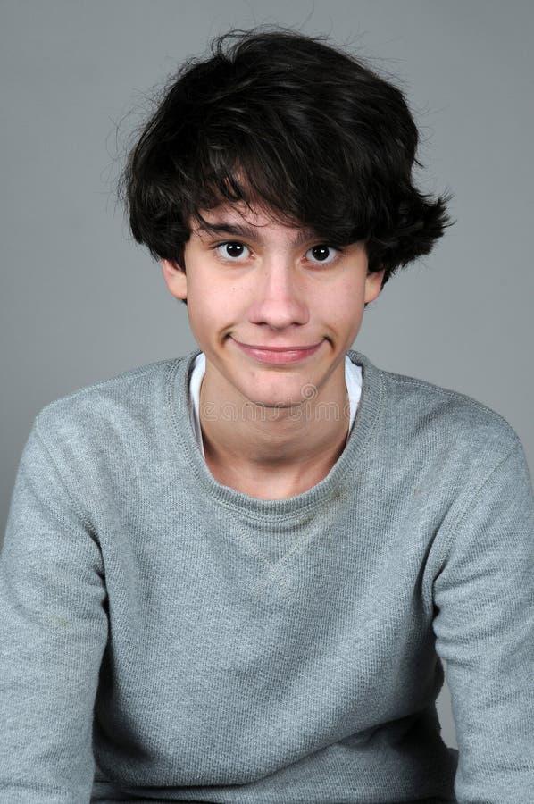 Nastolatek chłopiec fotografia royalty free