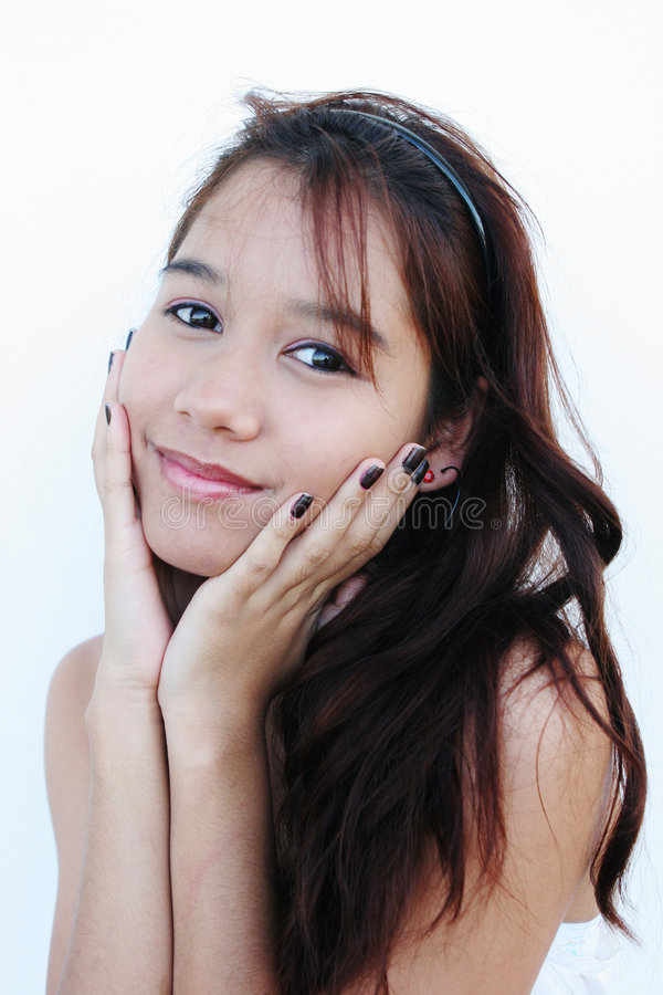 nastolatek portret, zdjęcie stock