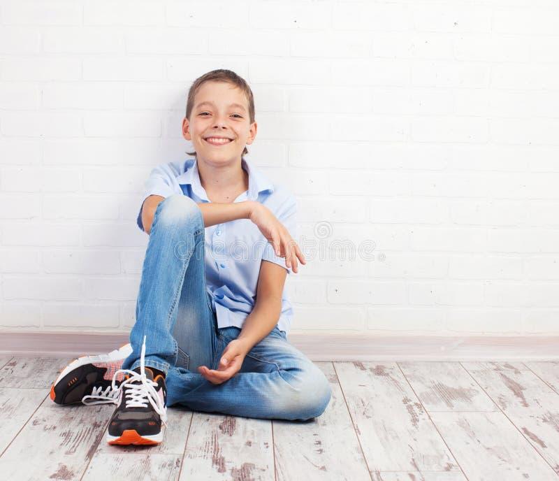 nastolatek szczęśliwy obraz stock