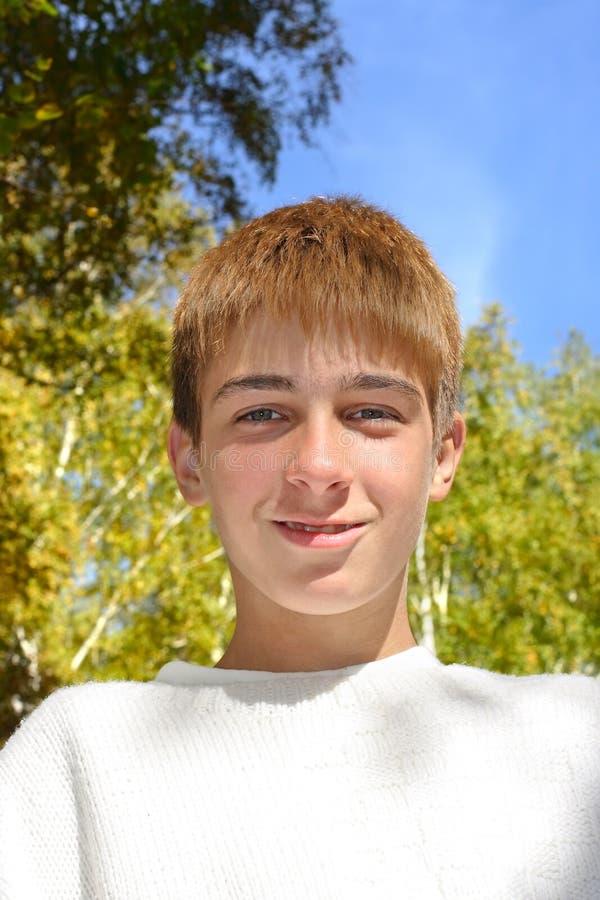 Nastolatka portret zdjęcia stock