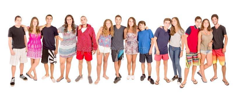 nastolatkowie obraz stock