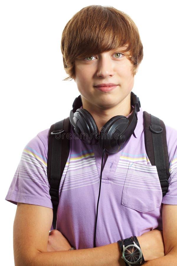 Nastoletni chłopaczyna obraz stock