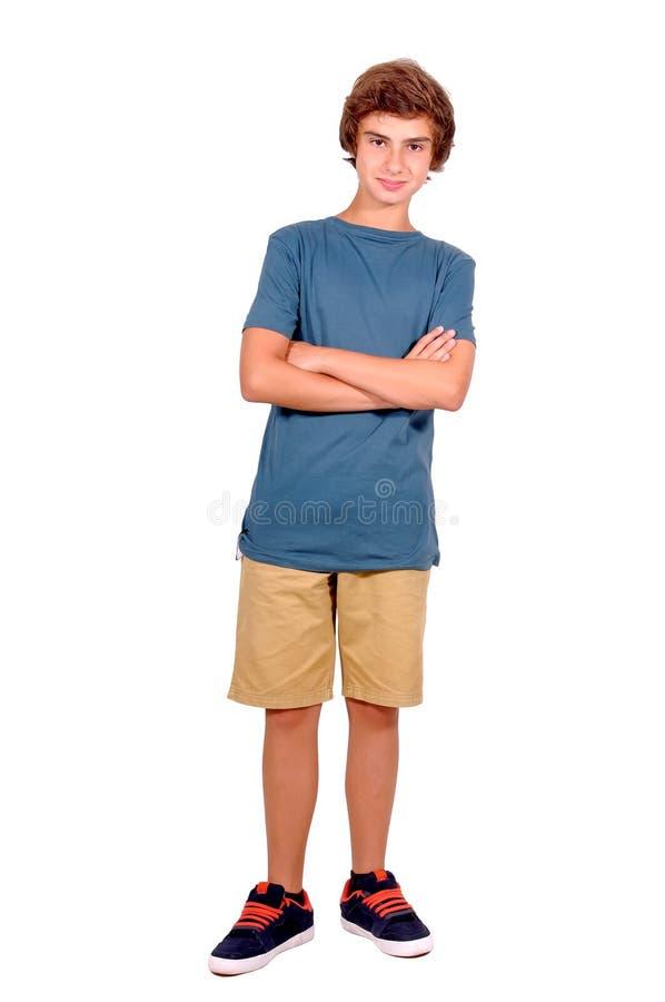 Nastoletni chłopak fotografia royalty free
