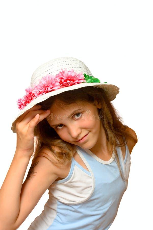 nastoletni dziewczyna śliczny portret obraz stock