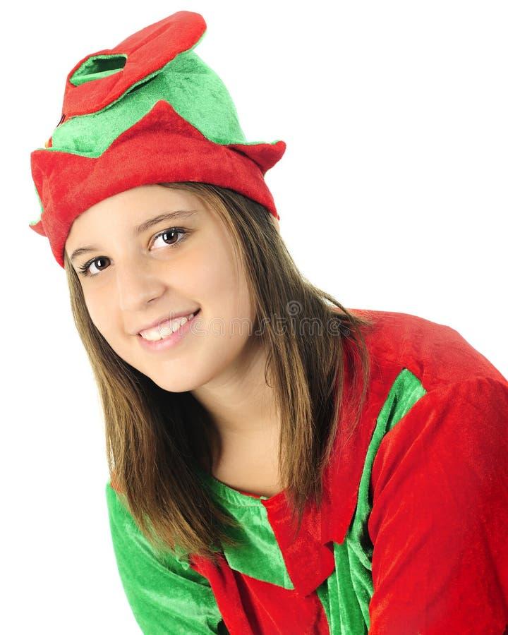 Nastoletni elfa portret fotografia royalty free