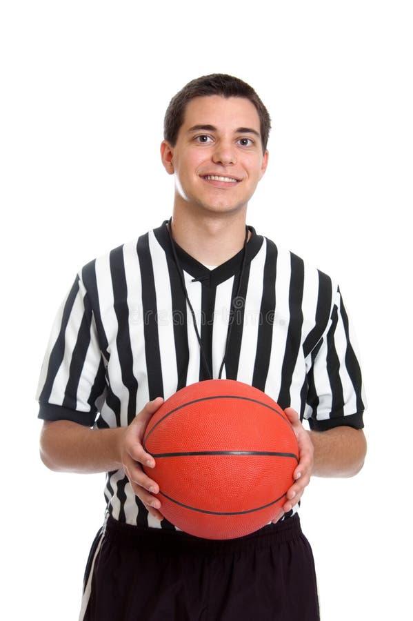 nastoletni koszykówka arbiter zdjęcie stock