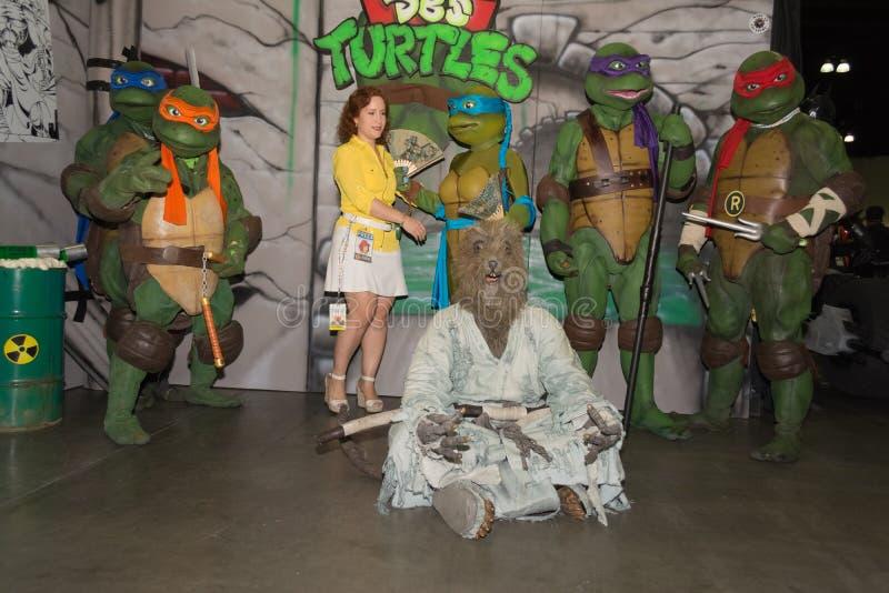 Nastoletni mutanta ninja żółwie obrazy stock