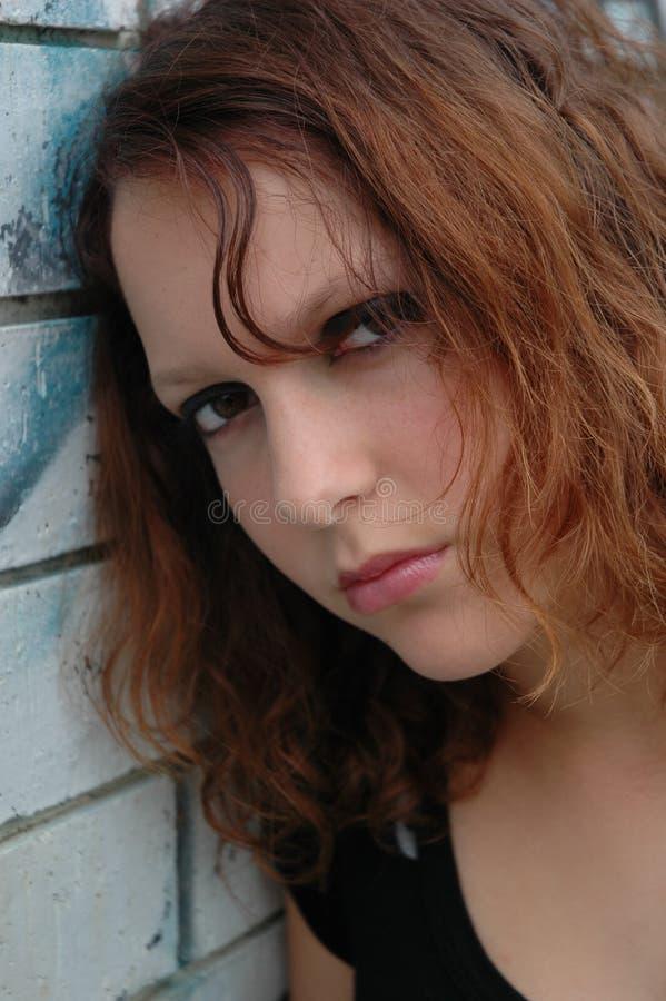 nastoletnia dziewczyna obrazy stock
