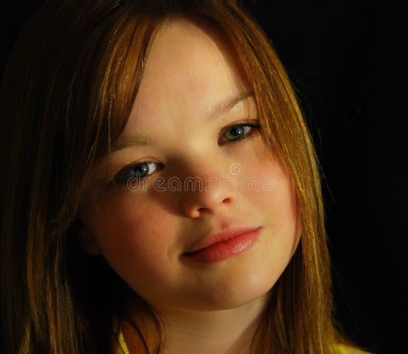 nastoletnia dziewczyna, obraz royalty free