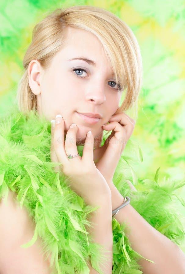 nastoletnia dziewczyna blond obrazy royalty free
