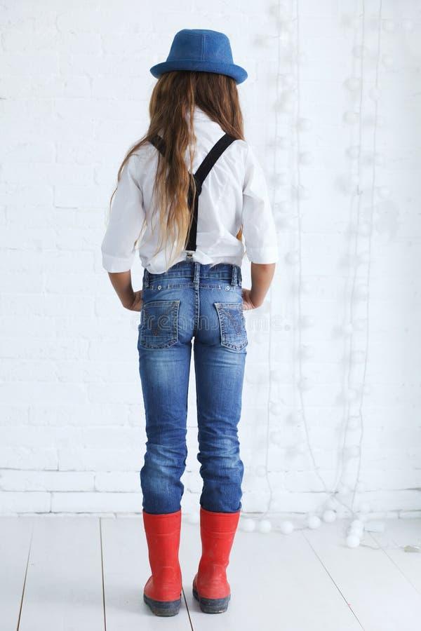 nastoletnia mody dziewczyna obrazy royalty free