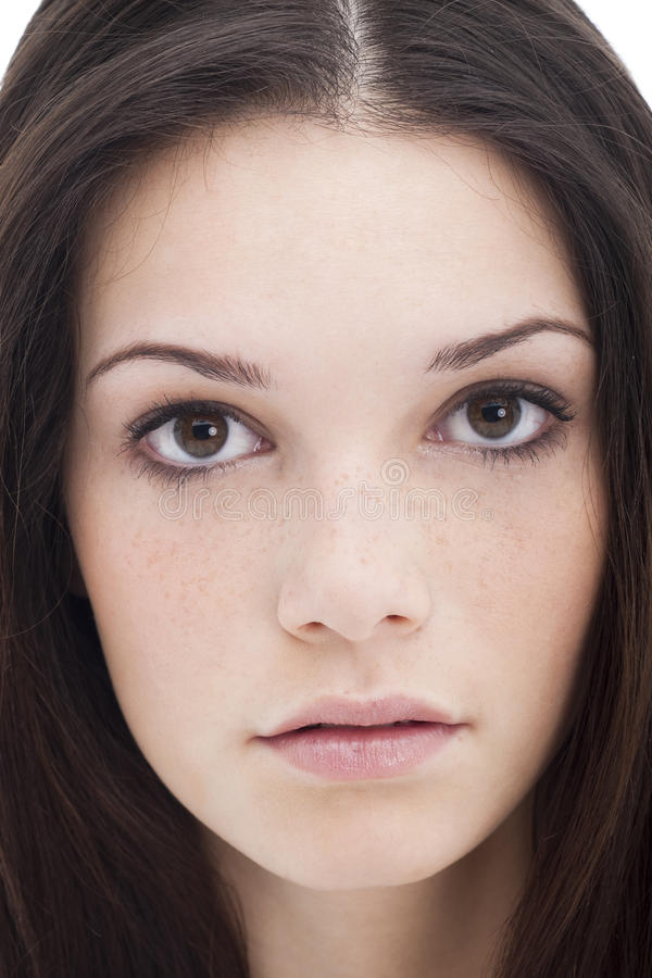 nastoletnia piękna dziewczyna obrazy stock