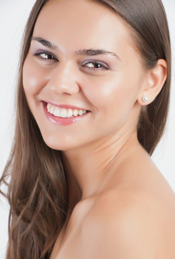 nastoletnia piękna rozochocona target2144_0_ dziewczyna obraz stock