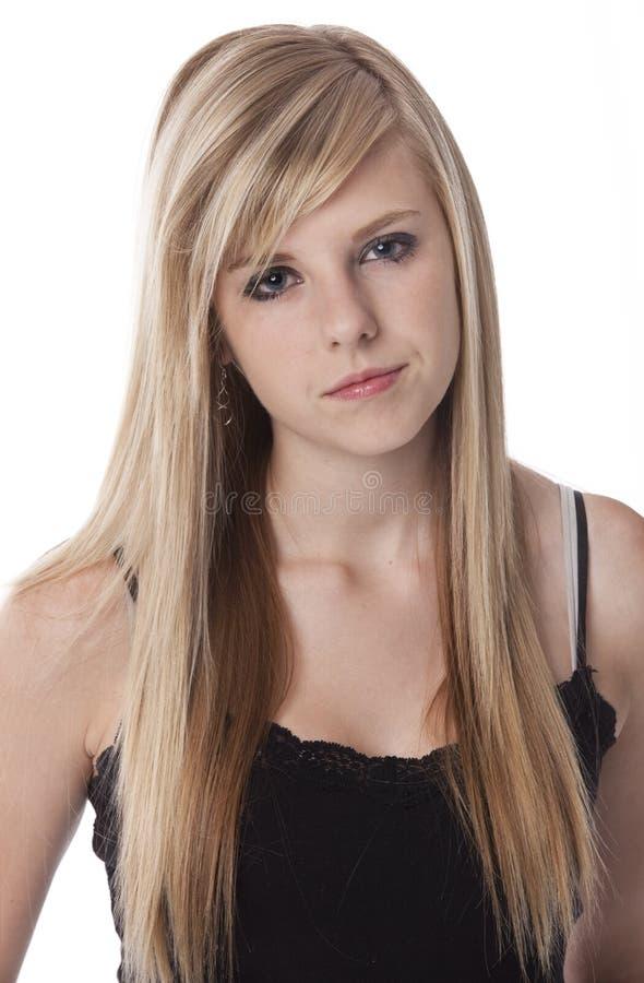 Nastoletnia postawa zdjęcie stock