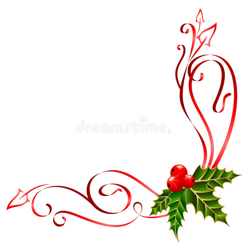 Nastri di natale decorati fotografie stock immagine for Appartamenti decorati per natale