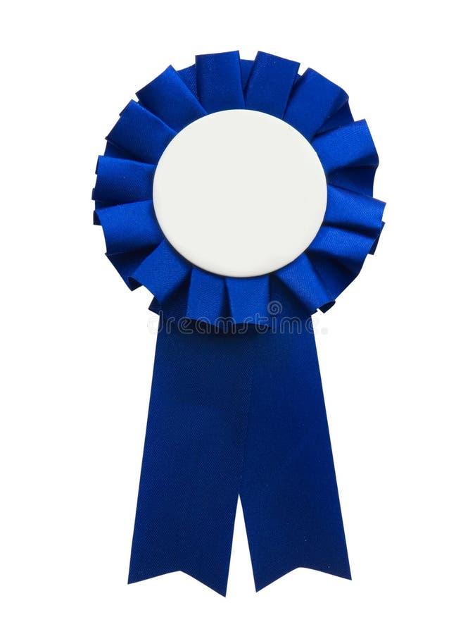 Nastro blu fotografie stock