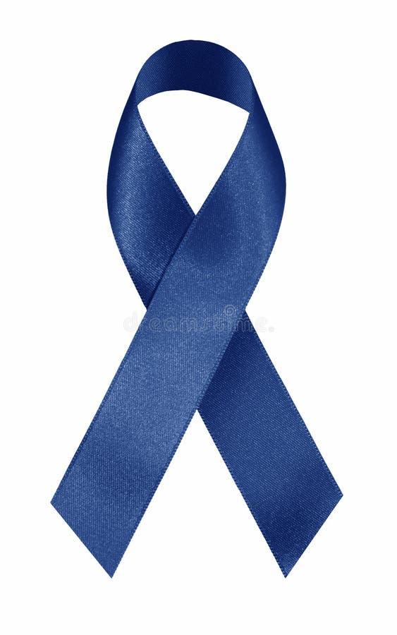 Nastro blu immagine stock