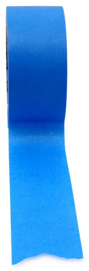 Nastro blu dei pittori immagine stock libera da diritti