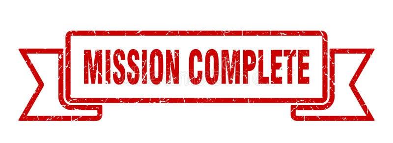 nastro completo di missione royalty illustrazione gratis