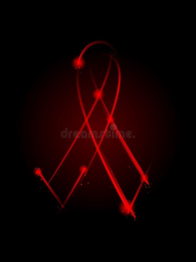 Nastro del AIDS illustrazione di stock