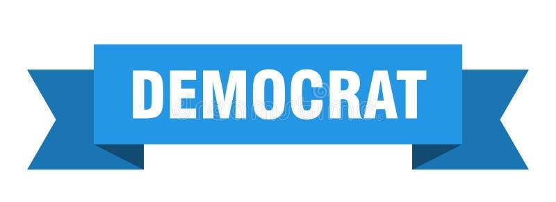 nastro del democratico illustrazione vettoriale