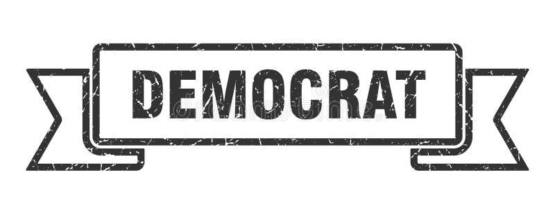nastro del democratico royalty illustrazione gratis