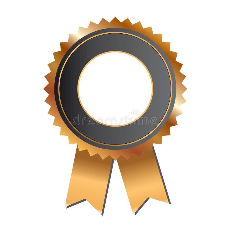 Nastro del premio dell'oro illustrazione vettoriale