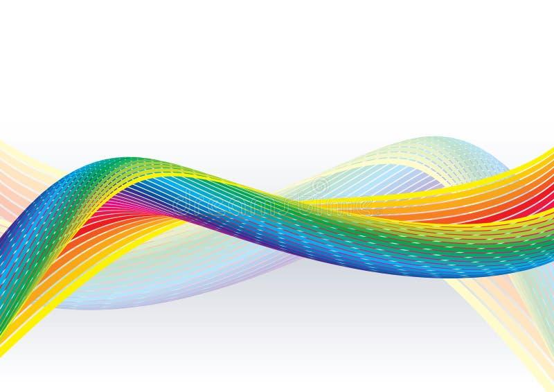 Nastro del Rainbow illustrazione di stock