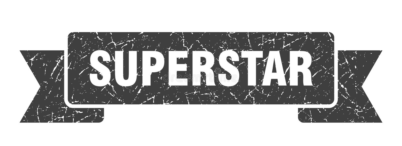 nastro del superstar illustrazione vettoriale