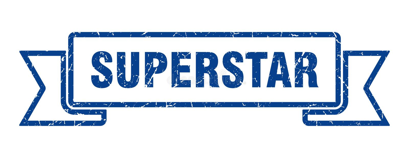 nastro del superstar illustrazione di stock