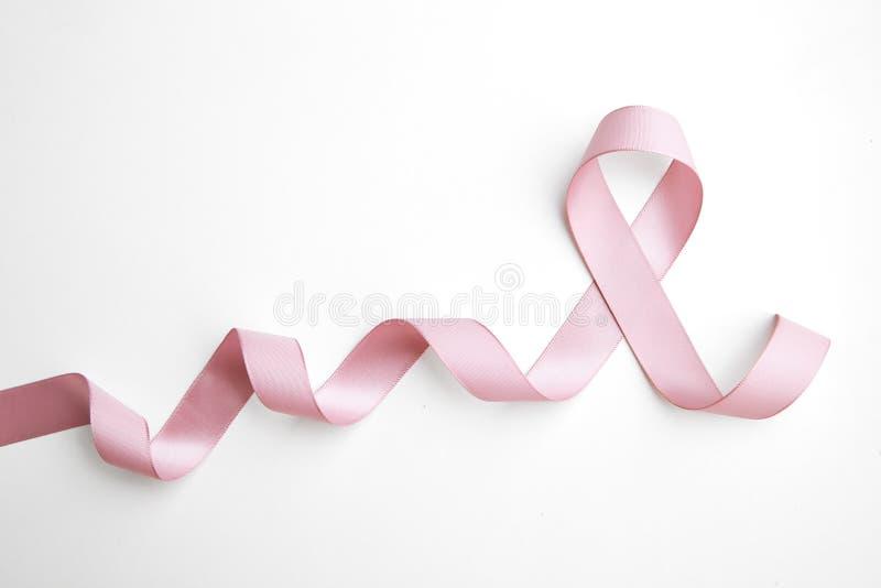 Nastro dentellare del cancro della mammella immagine stock
