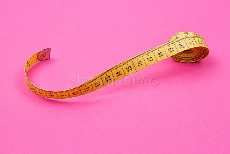 Nastro di misurazione del sarto fotografia stock