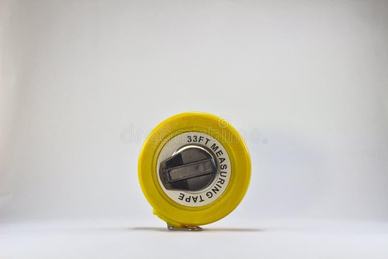 Nastro di misurazione giallo 3156 immagini stock