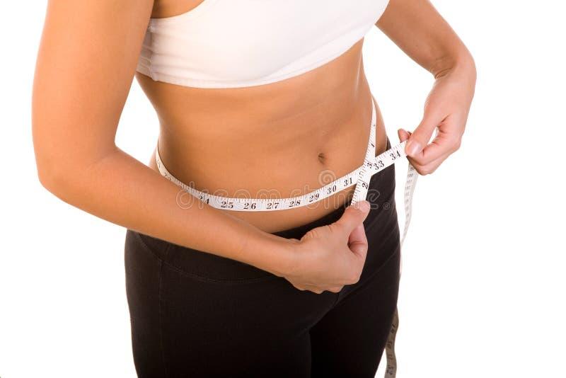 Nastro di perdita di peso immagini stock