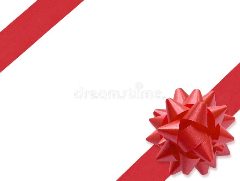 Nastro festivo (percorso di +clipping, XXL) immagini stock