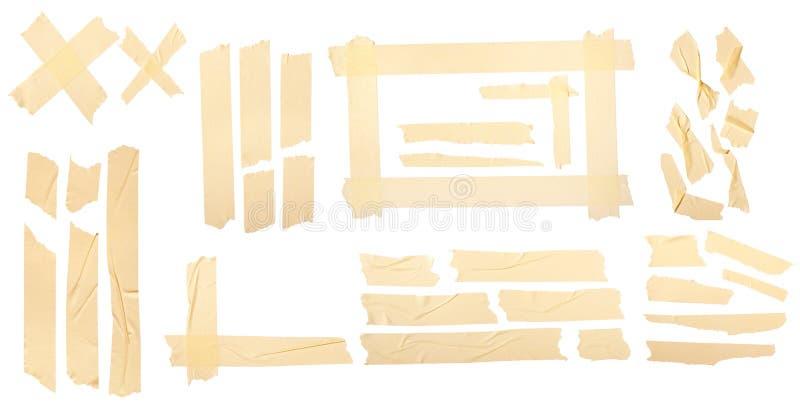Nastro giallo illustrazione vettoriale