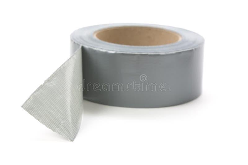 Nastro grigio del condotto fotografie stock