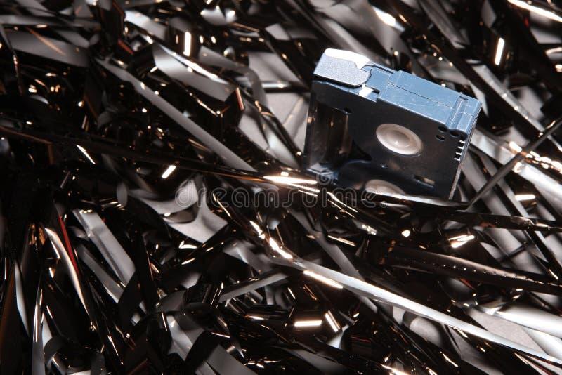 Nastro magnetico immagine stock