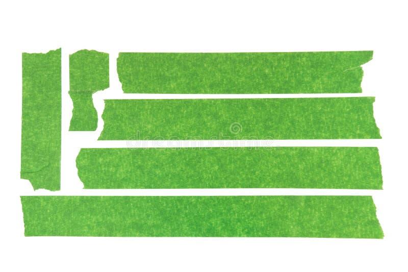 Nastro protettivo verde fotografie stock libere da diritti