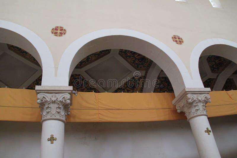 Nasz dama arka umowa kościół łuki zdjęcie stock