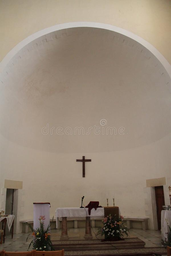 Nasz dama arka umowa kościół Zmienia zdjęcie royalty free