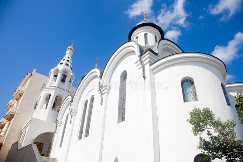 Nasz dama Kazan ortodoksa katedra obrazy stock