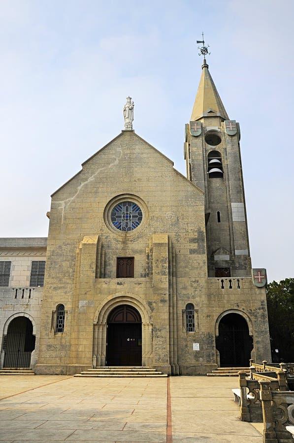 Nasz dama Penha kościół zdjęcie royalty free