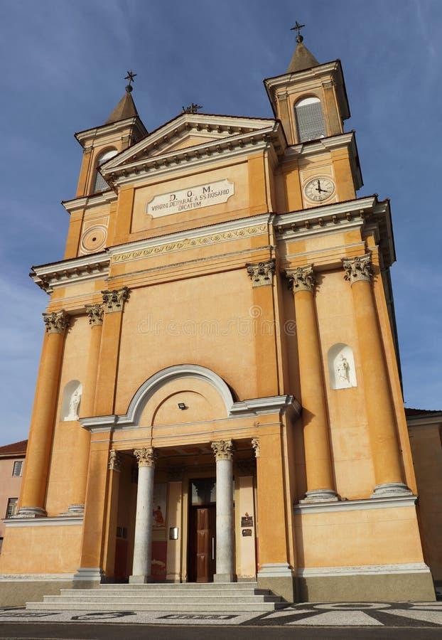 Nasz dama Rosario kościół - Kolombo Brazylia zdjęcia royalty free