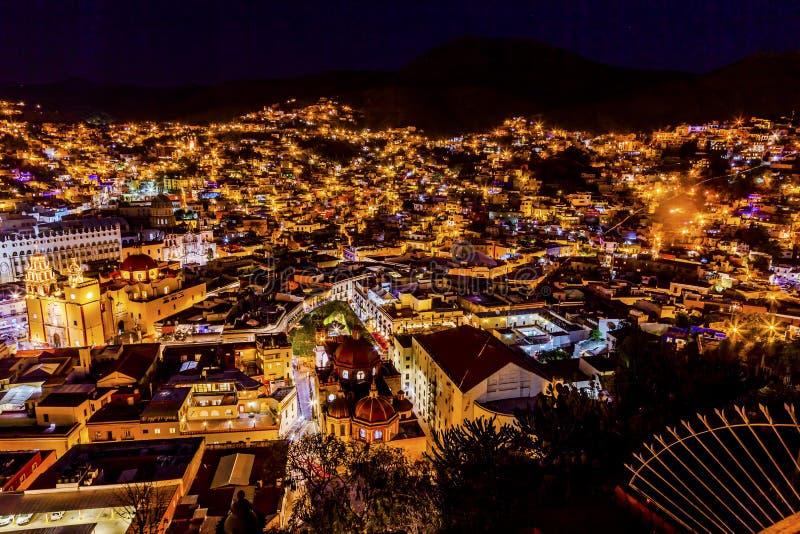 Nasz damy Templo San Diego Jardin bazylika Guanajuato Meksyk zdjęcie royalty free