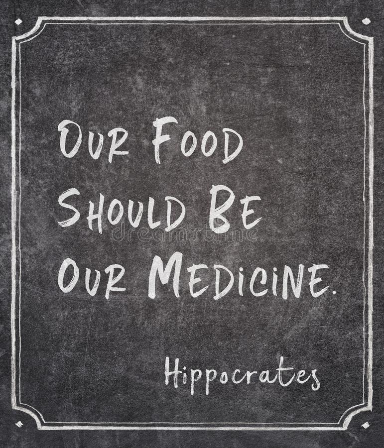 Nasz medycyna Hippocrates fotografia royalty free
