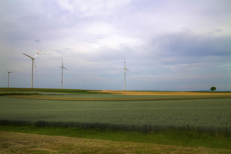 Nasz sen zielona przyszłość zdjęcia stock
