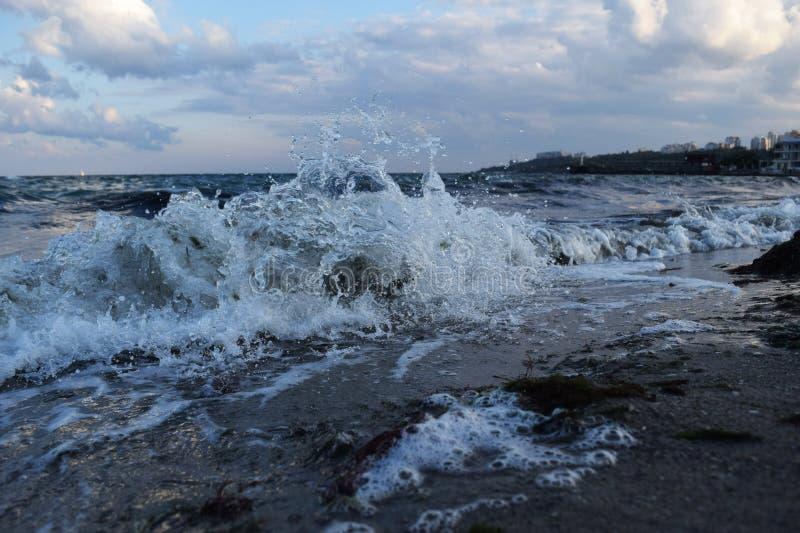 Nasz ulubiony piękny Odessa morze obraz royalty free