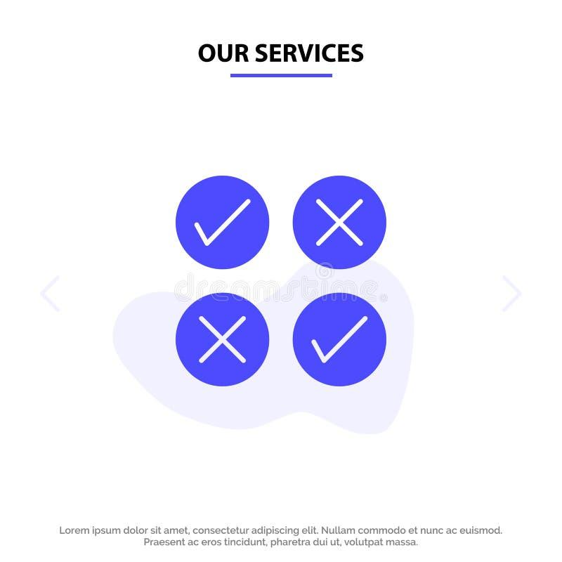 Nasz usługi Kreatywnie royalty ilustracja
